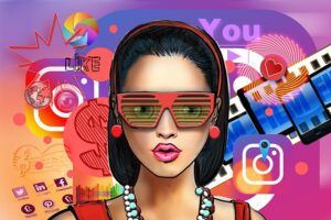 cost of instagram ads - cool woman with sunglasses