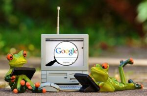 google digital garage - frogs